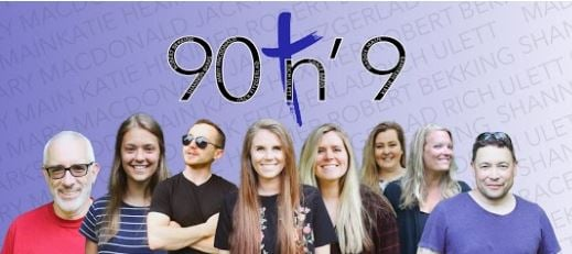 Picture of the members of the Band 90 and 9